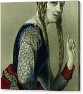 Eleanor Of Aquitaine, Queen Of Henry II Canvas Print