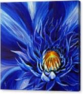 Electric Blue Canvas Print