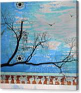 Electric Blue Skies Canvas Print