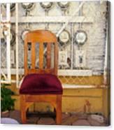 Electric Chair Canvas Print