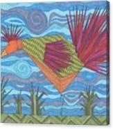 Electric Chicken Canvas Print