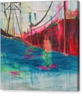 Electric Feel Canvas Print
