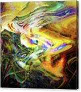 Electric Fluids Canvas Print