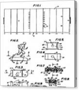 Electric Football Patent 1955 Canvas Print