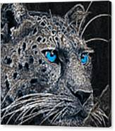 Electric Leopard Canvas Print
