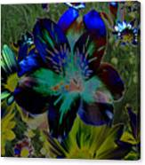 Electric Lily Canvas Print
