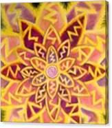 Electric Lotus Canvas Print