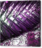 Electric Violet Fish Canvas Print