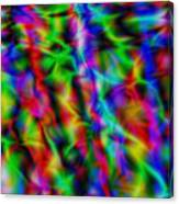 Electric Waves Canvas Print