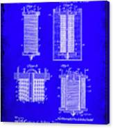 Electrical Battery Patent Drawing 1e Canvas Print