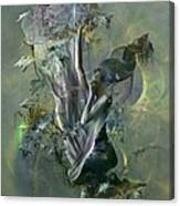 Electro Vine Canvas Print