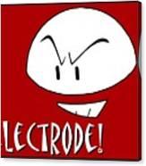 Electrode Canvas Print