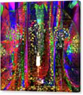 Electromagnetic Light Canvas Print
