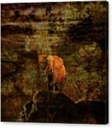 Elefant King Canvas Print