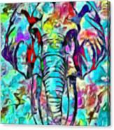 Elefante Canvas Print