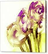 Elegant Flowers Canvas Print