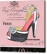 Elegant French Shoes 2 Canvas Print