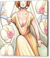 Elegant Orchid Canvas Print