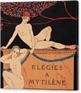 Elegies A Mytilene Canvas Print