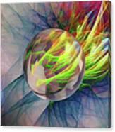 Elemental Space Canvas Print