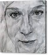 Unknown, Portrait Canvas Print