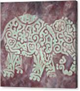 Elephant - Animal Series Canvas Print