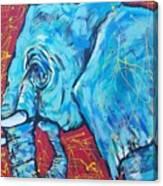 Elephant #4 Canvas Print