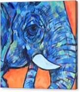 Elephant# 6 Canvas Print