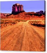 Elephant Butte Monument Valley Navajo Tribal Park Canvas Print