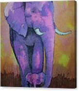 My Elephant   Canvas Print