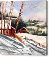 Elephant Mountain Ranch Canvas Print