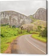 Elephant Rock, Malawi Canvas Print