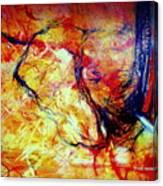 Elephant- Sheut Dimdumim Canvas Print