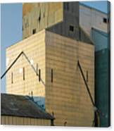 Elevator In Moscow Idaho Canvas Print