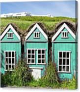 Elf Houses Canvas Print