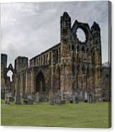 Elgin Cathedral - East View Canvas Print