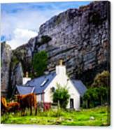 Elgol Cottage, Skye Canvas Print