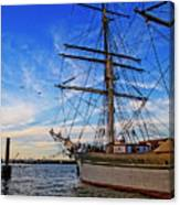 Elissa Sailing Ship Canvas Print