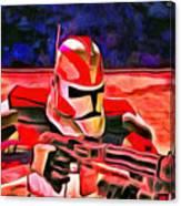 Elite Trooper - Da Canvas Print