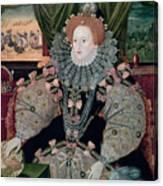 Elizabeth I Armada Portrait Canvas Print