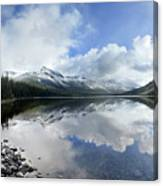 Elizabeth Lake Detail 2 - Glacier National Park Canvas Print
