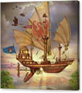 Elizabethan Ship Canvas Print