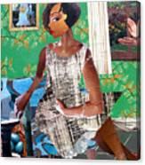 Elizabeth's Window Canvas Print