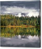 Elk Lake Canvas Print