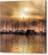 Elk Lake Morning  Canvas Print