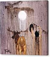 Elk Spirit Canvas Print