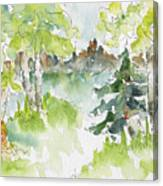Elkridge Greens Canvas Print