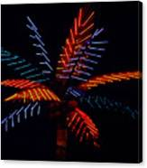 Ellas Neon Palm Canvas Print