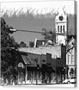 Ellaville, Ga - 3 Canvas Print