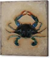 Ellen's Crab Canvas Print